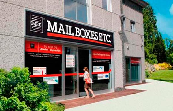 franquicia Mail Boxes Etc. (MBE)